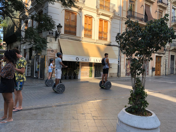Segway tour Valencia
