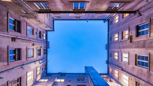 Opvallende architectuur in Lyon