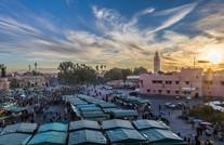 Het Djeema El Fna plein