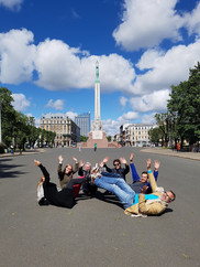 City game: Levend standbeeld maken
