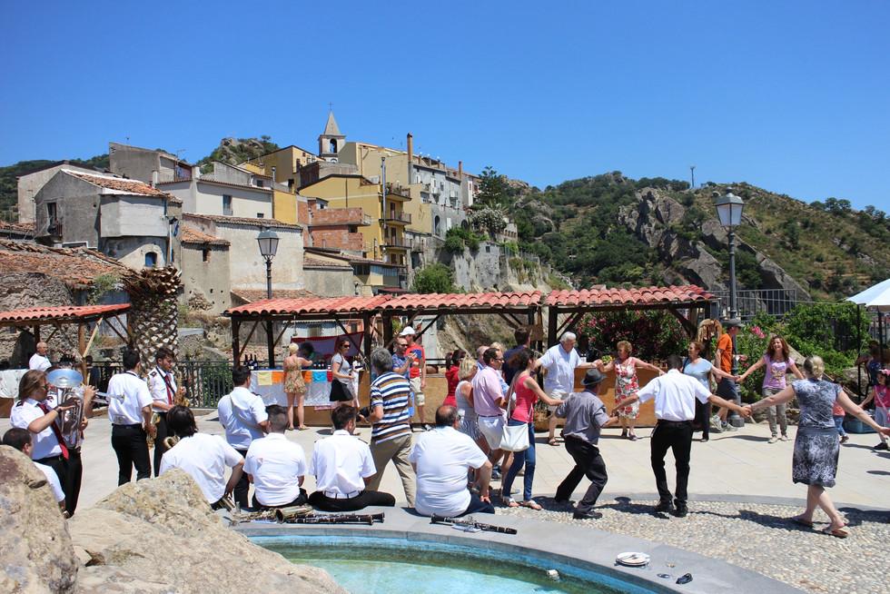 Feestlunch in Sicilië