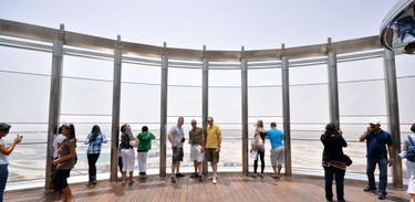 Burj Khalifa At The Top observation deck