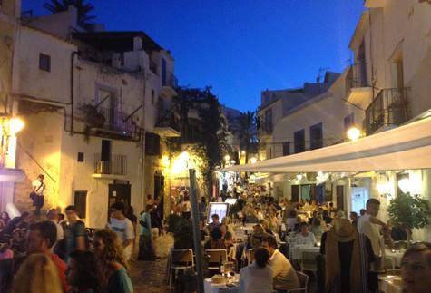 Ibiza-stad verkennen