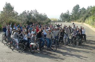 Op de fiets door Valencia