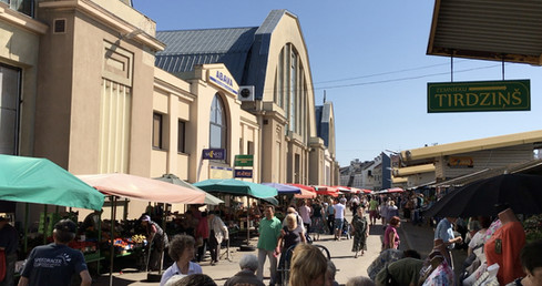 De Markthal in Riga