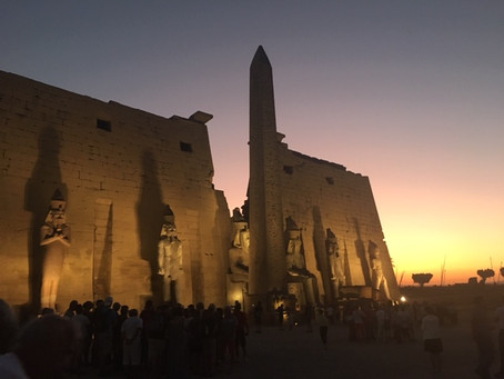 Our Arrival in Luxor