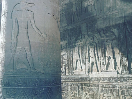 Activating the Chakra's and visiting Horus and Sobek