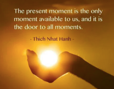 What does it mean to fully be Present?