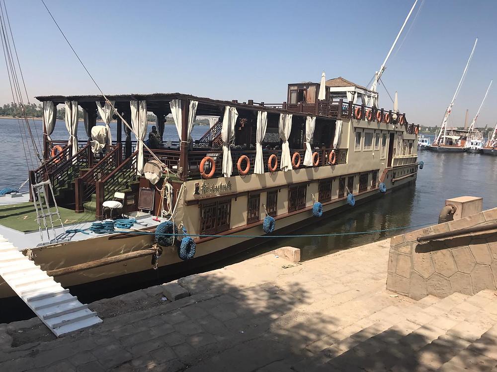 The Dahabeya Afandina - Our Home on the Nile