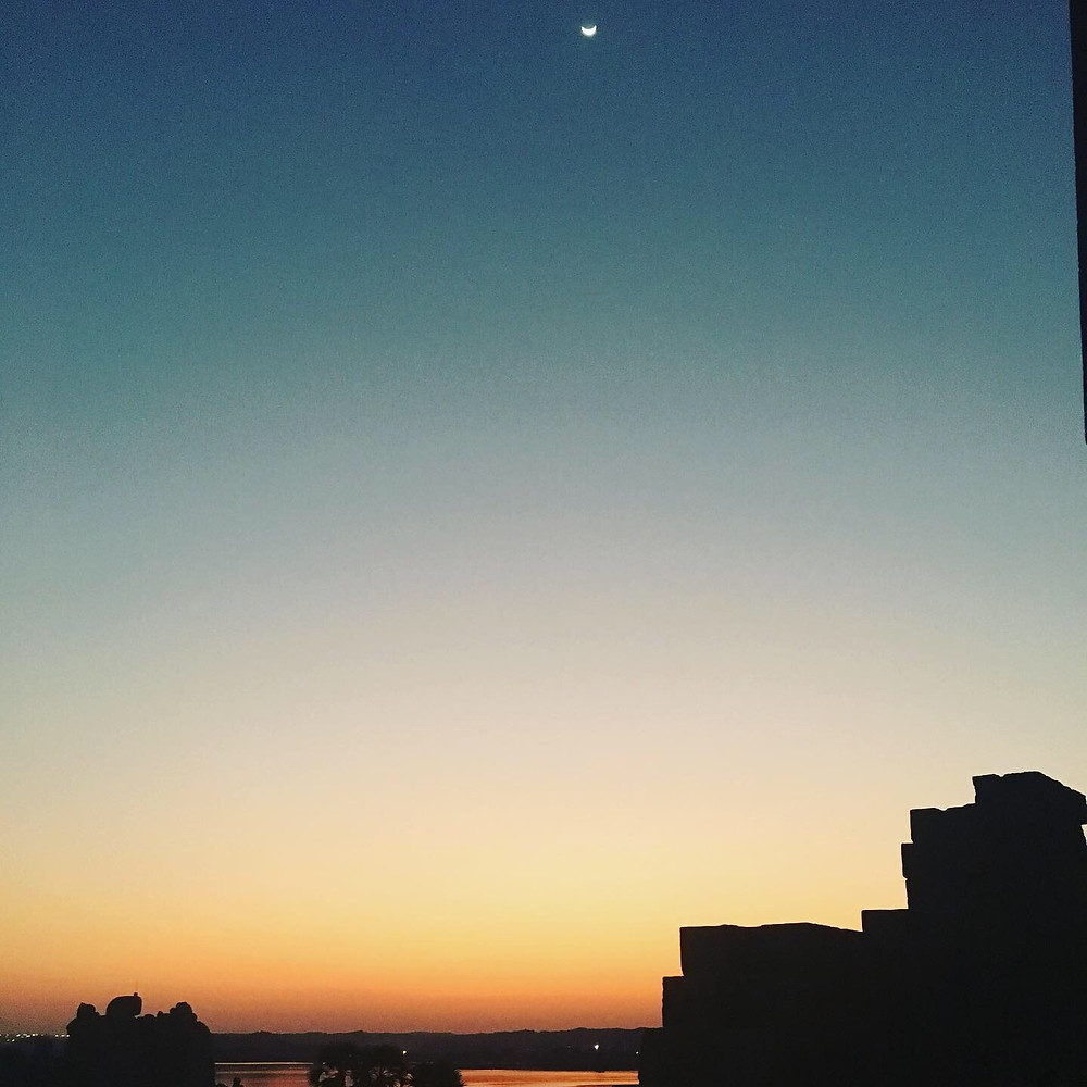 Morning Sunrise at Philae Temple