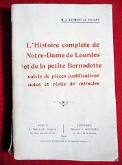 livre Bernadette Soubirou