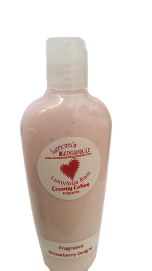Creamy Lotions - Our Luxurious Bath creamy lotions are made with natural butt...