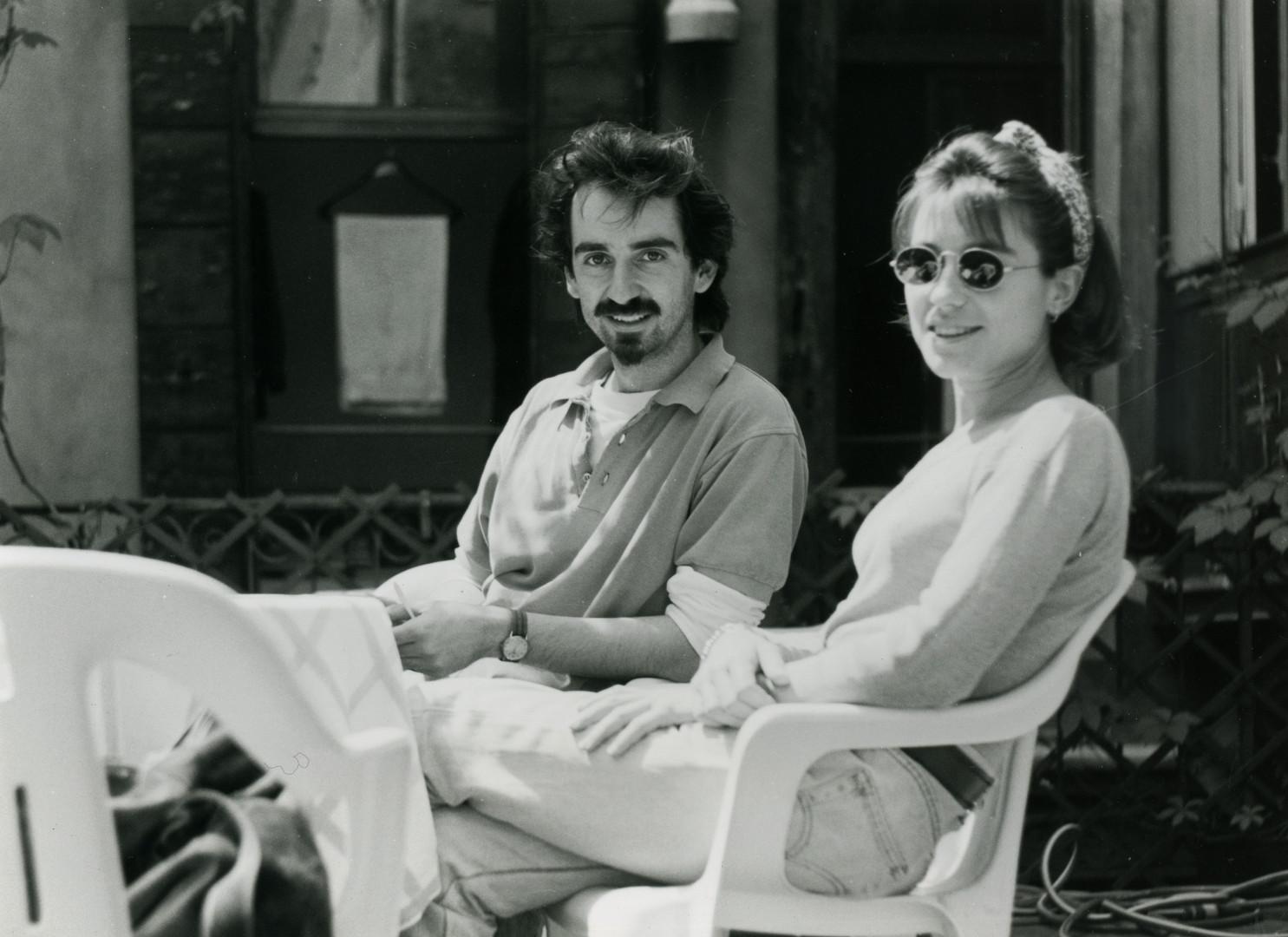 Joël Mestre y Elvira Querol (Venecia, 1994)