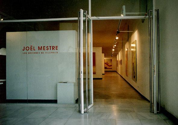 LOS BALCONES DE TELEPOLIS_ Exposición individual La Merce (Burriana_Castellón 1998)