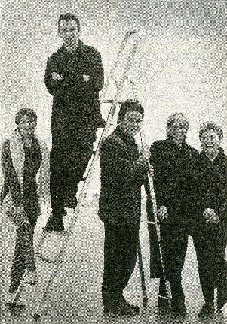 CONTEMPORANE@ 1999 Espai D' Art Contemporani de Castello. EACC Marisa Gallen (Diseño), Joël Mestre (Pintura), Josep Llinas (Arquitectura), Julia Galan (Fotografia), Carmen Ballester (Ceramica)