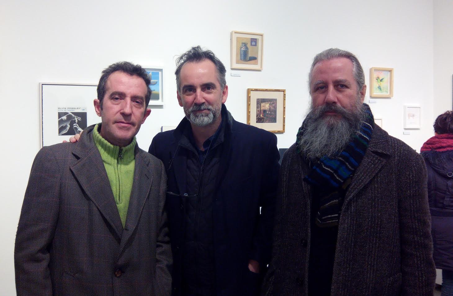 Dis Berlin, Joël Mestre y Angel Mateo Charris. Galería My Name's Lolita Art (Madrid, 2015)