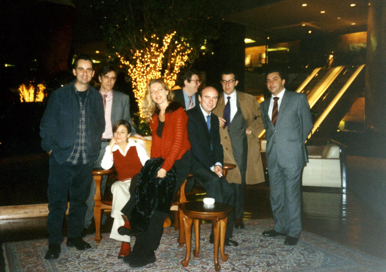 Premios Todisa. Hotel Juan Carlos I_Barcelona (2000)  Joël Mestre, Guillermo Solana, Elvira Querol, Angie Kaak, Juan Manuel Bonet, Alvaro Villacieros, Dis Berlin, Enrique Andres Ruiz