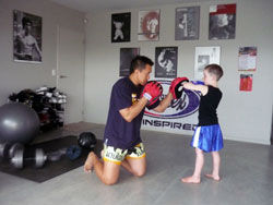 Kid's Muay Thai Kick Boxing