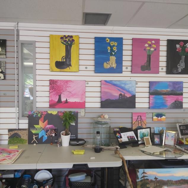 Kamloops Art Party Studio