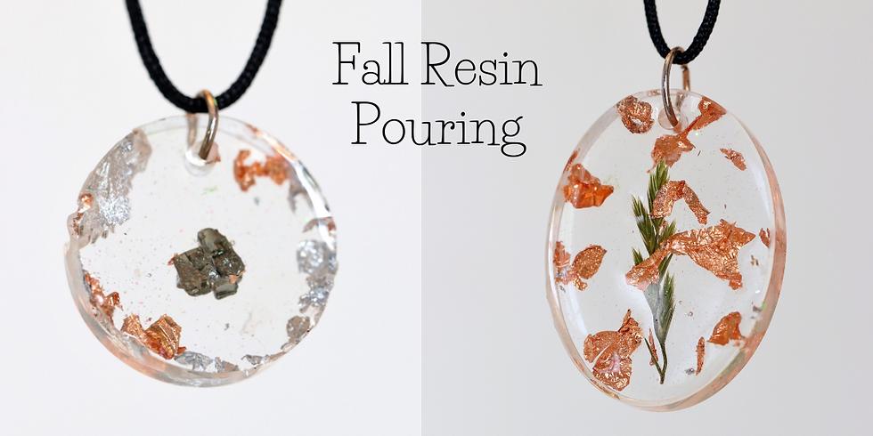 Fall Resin Jewellery