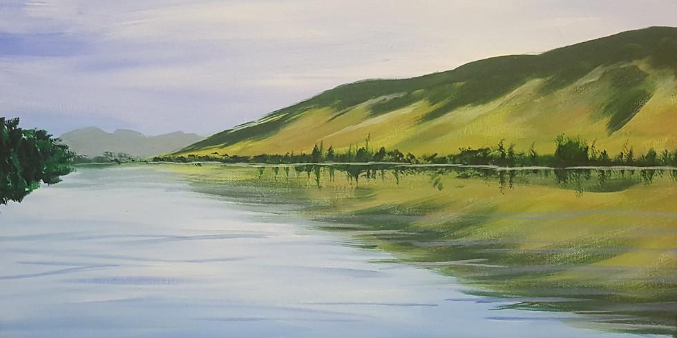 North Thompson Acrylic Painting