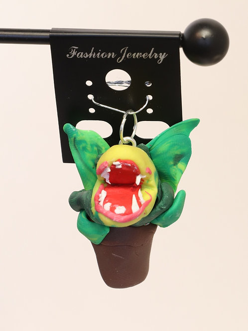 Audry II Polymer Clay Pendant