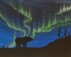 Northern Lights Bear