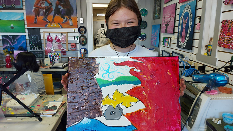 Teens Summer Art Camp August 2nd - 6th