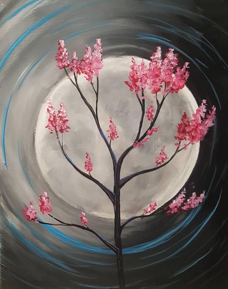 Moonlit Sapling