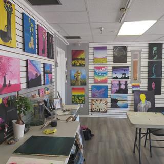 Acrylic Painting Showroom