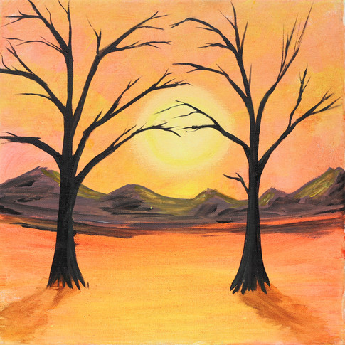Orange with 2 trees glow paint (1).jpg