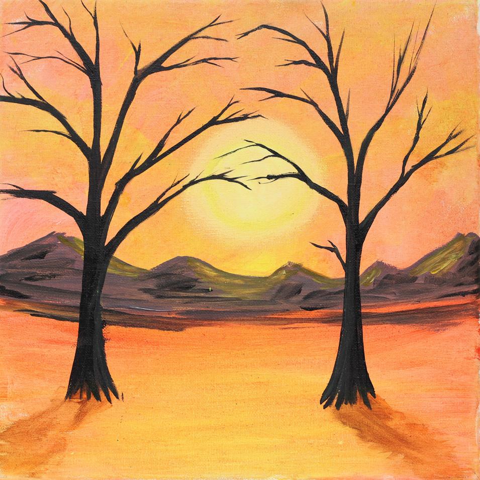 Orange with 2 trees glow paint (1).jpg