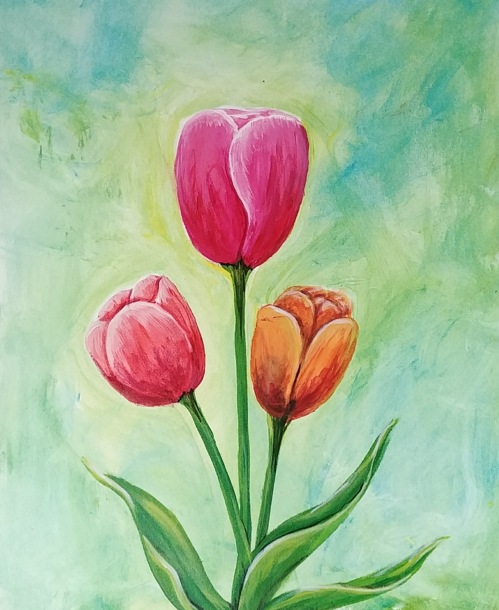 When Tulips Bloom