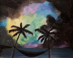 Galaxy Night: Palm Edition