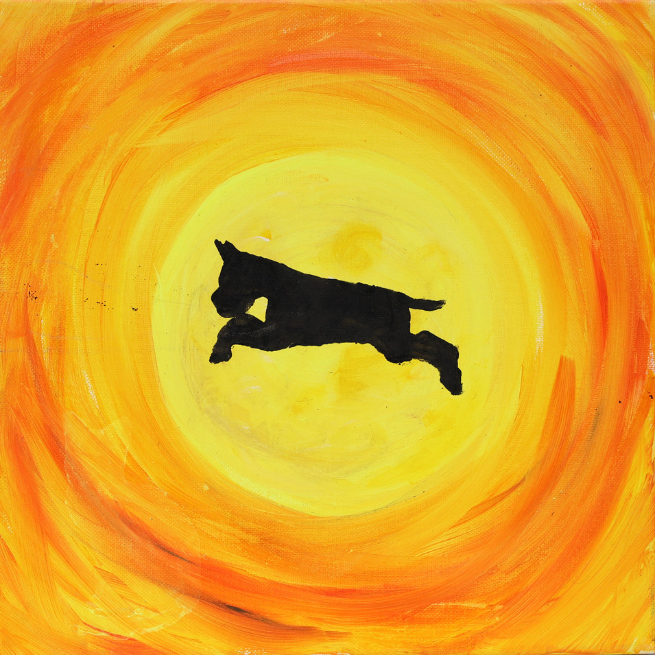 Orange dog sihlouette glow paint (1).jpg