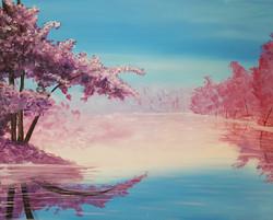 Blossoms Refleting