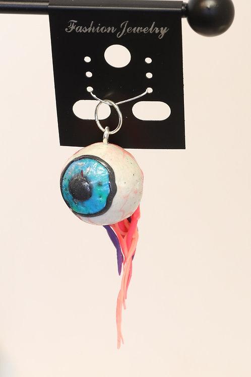 Polymer Clay Eyeball Pendant