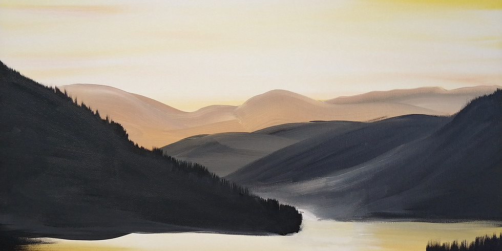 Loon Lake Acrylic Painting Fundraiser