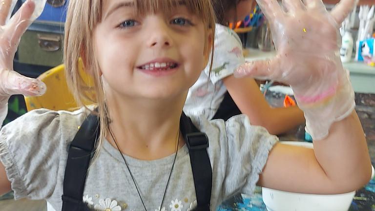 Saturday Mixed Media Kids Art Class