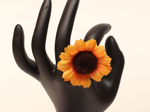 Statement Sunflower Ring