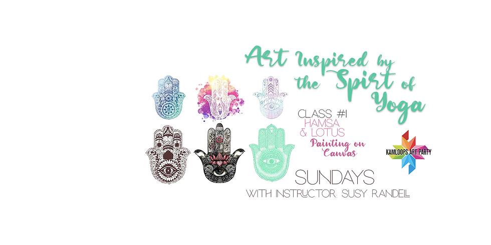 Art for the Soul: Hamsa and Lotus