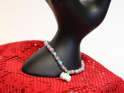 Mini Tea Cup Beaded Bracelet