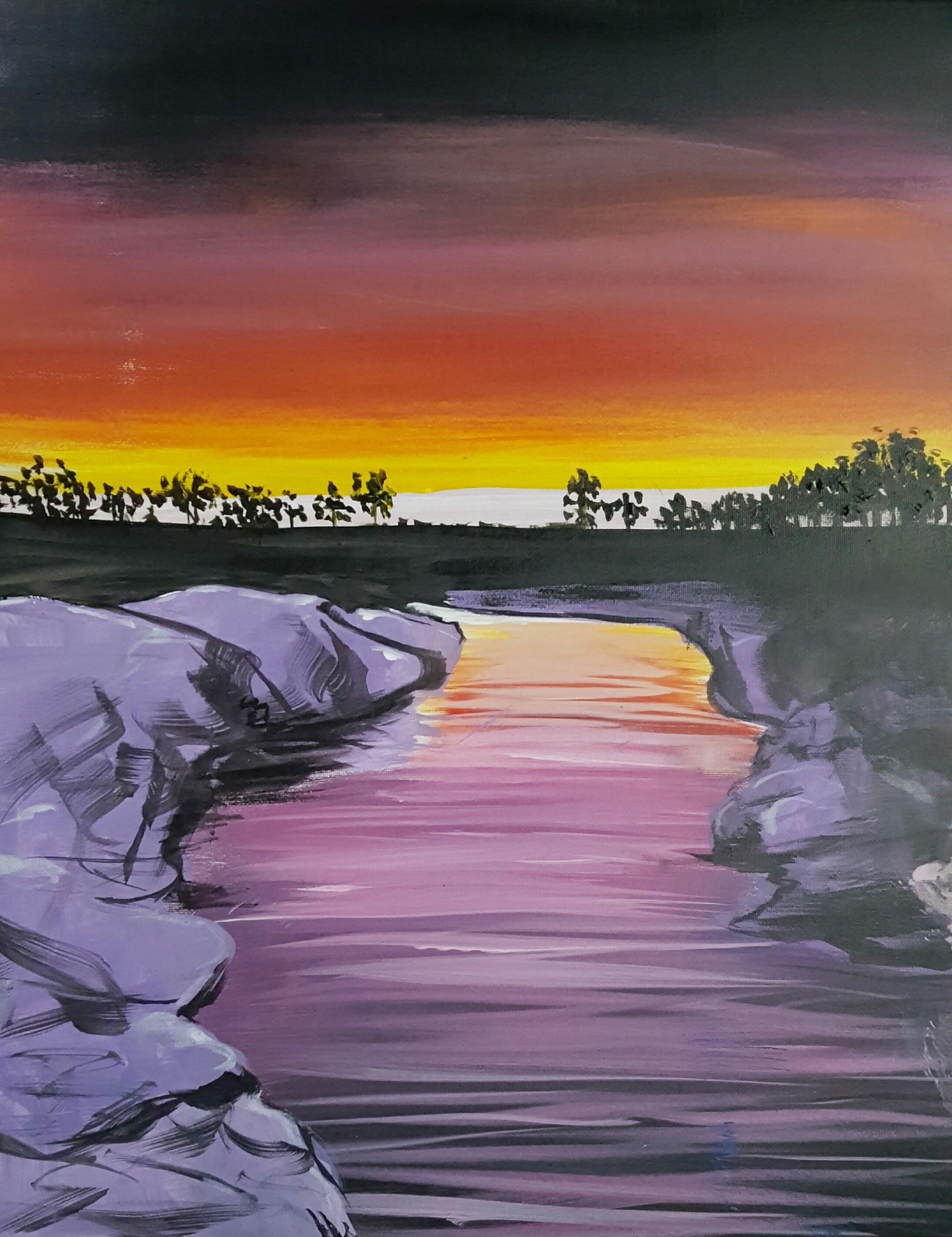 Sunset Stream