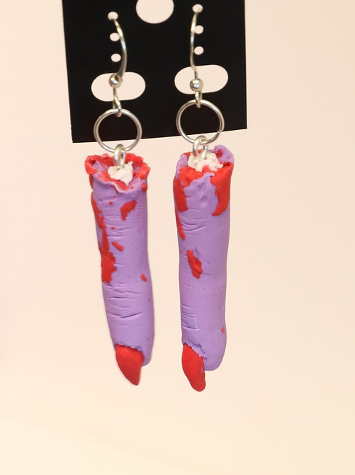 Witch Fingers Polymer Clay Earrings