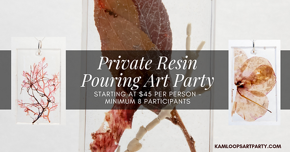 Resin Art Kamloops