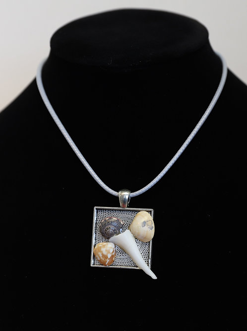 Butterfly Seashell Necklace