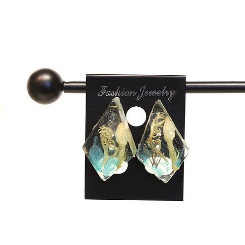 Stud Resin Earrings