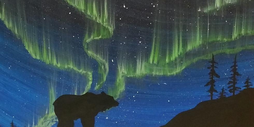 Zoom - Northern Lights Bear