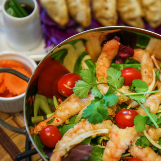 Shrimp Papaya Salad