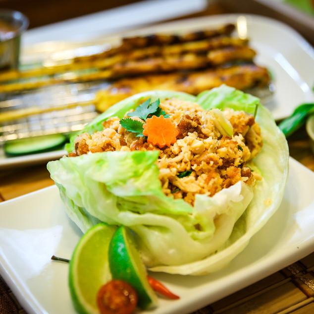 Vietnamese Lettuce Wrap